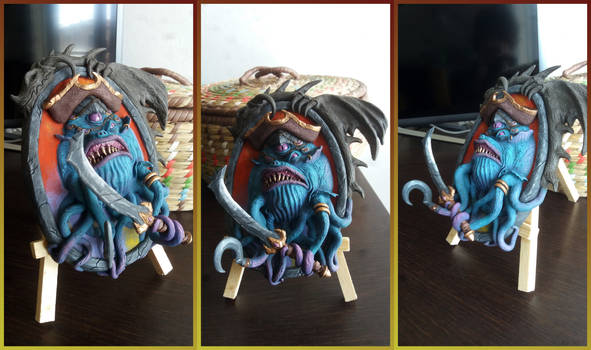 Patches The Pirate - Hearthstone Sculpture Fan Art