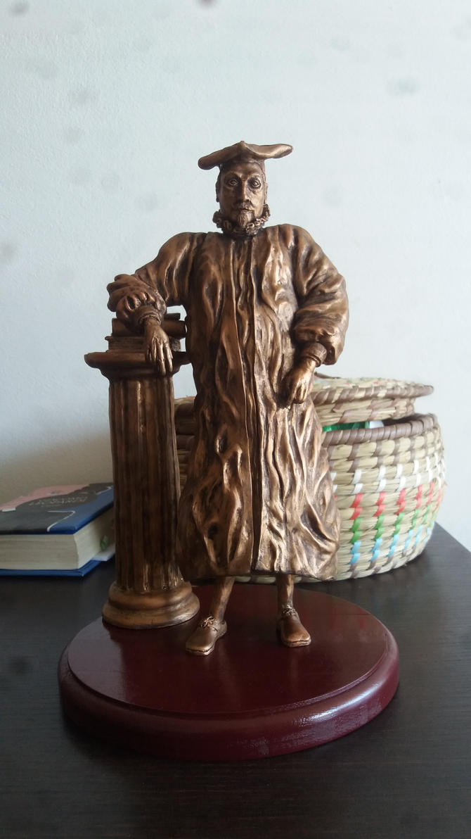 Anthony Van Dyke Sculpture by AntonioBalicevic