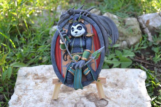 Aya Blackpaw - Hearthstone Sculpture
