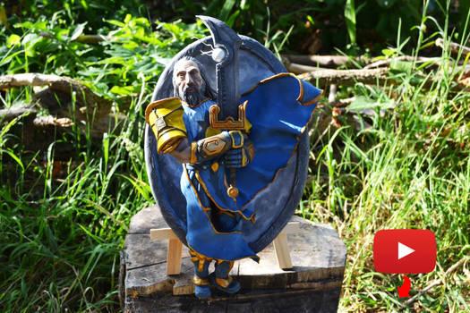 Tirion - Hearthstone sculpture
