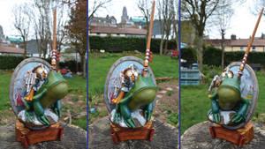 Murloc Knight Sculpture - Hearthstone Fanart