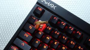 Golden TT Custom Key Cap - Escape from Tarkov