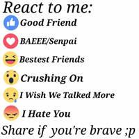 Meme 1 - React to me