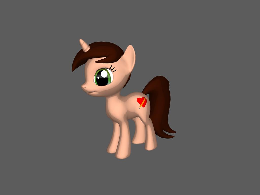 Yeuh 3D Drawtastic by Draw-Tastic-Pony