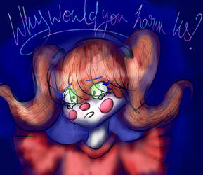 First draw on Graphic Tablet ! Circus Baby