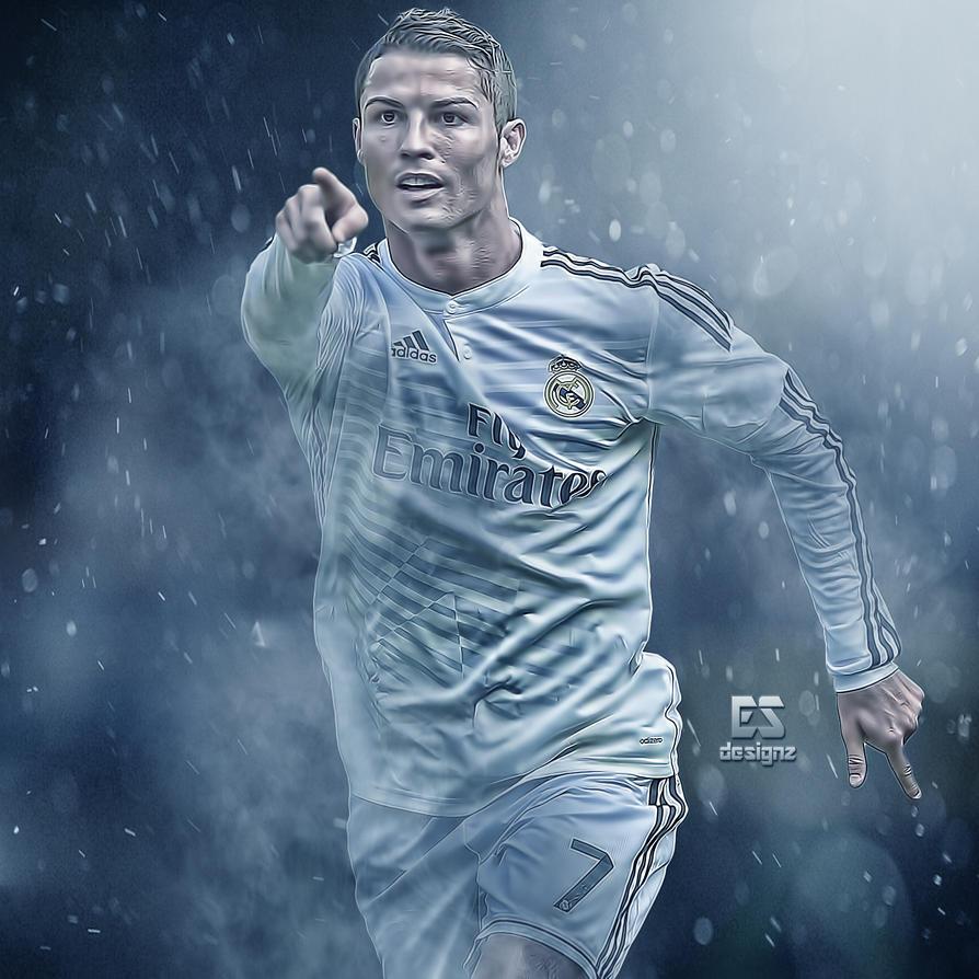 Cristiano Ronaldo Wallpaper: Cristiano Ronaldo By Esdesignz On DeviantArt