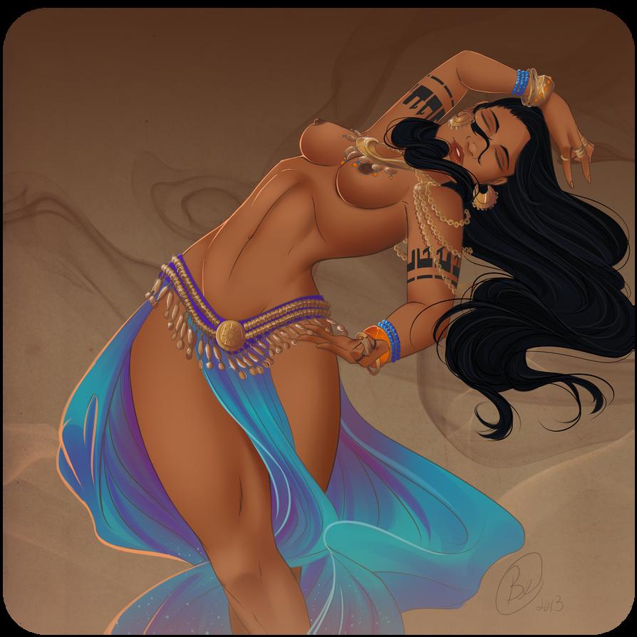 A Dance That Captivates by Lavahanje