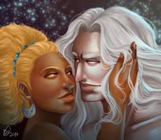 Devj Commission: Devj and Leon II by Lavahanje