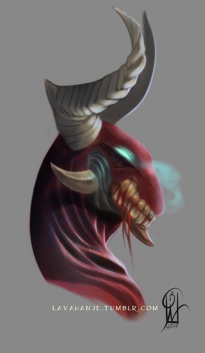 Blood Dragon by Lavahanje