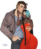 Gambit and Magnolia by Lavahanje