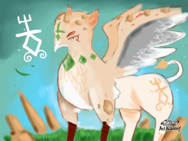 Griffin Pokemon by NatsumeSaga2