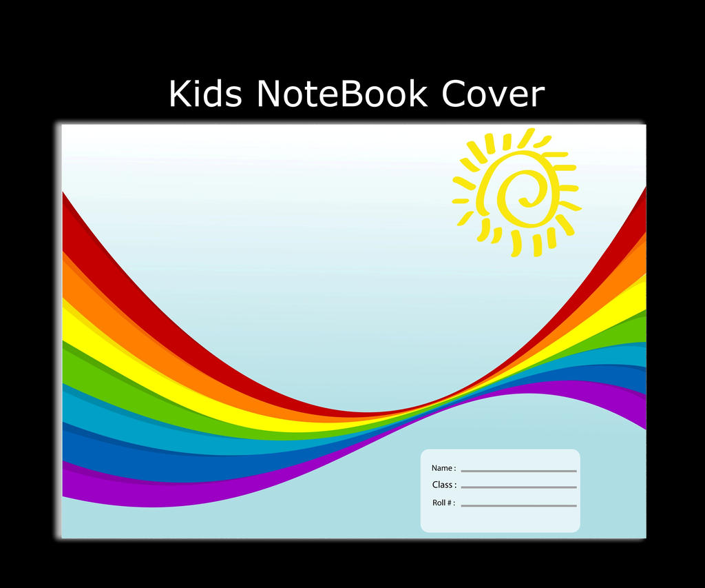 Children Note Book Cover : Kids note book cover by shakeeljavaid on deviantart