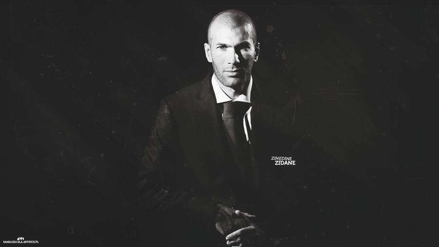 Zinedine Zidane by Kamiloza