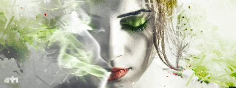 Smoke Girl by Kamiloza