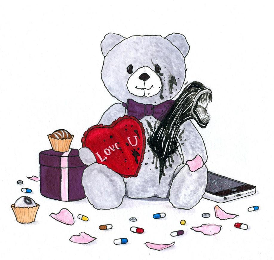 Unhappy Valentine's Day by sternsch