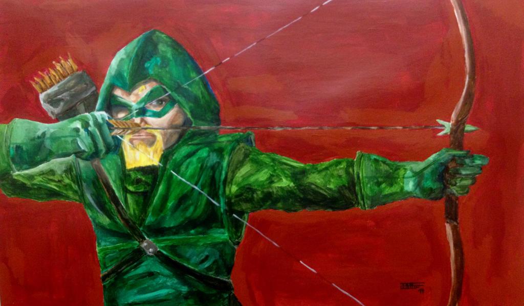 Green Arrow by Ironmanfan4