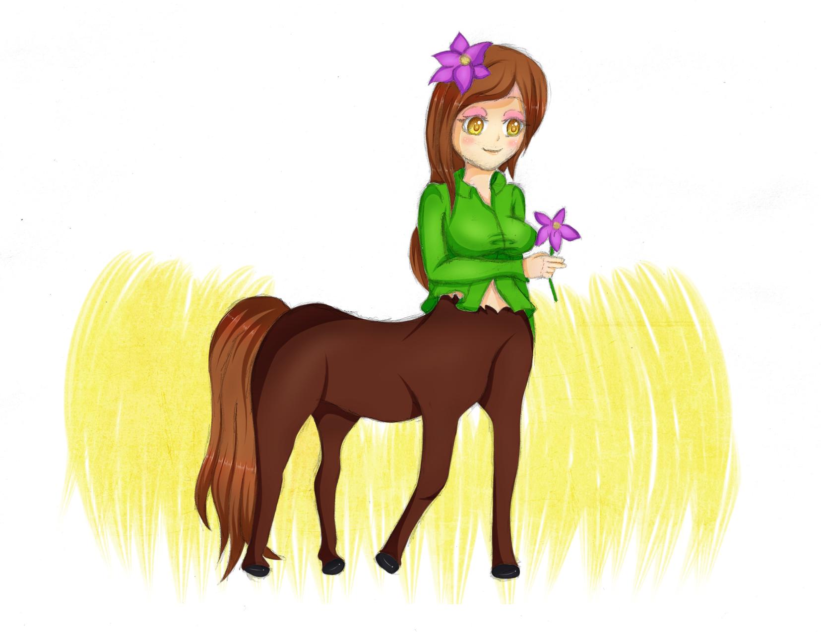 Cartoon female centaur pussy hardcore clip