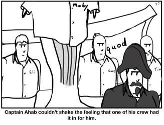 Ahab's Suspicion