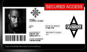 Arkham Employee Aaron Cash