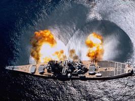 USS Iowa BB 61 by tr4br