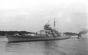 Battleship Bismarck by tr4br
