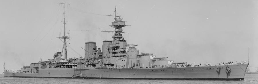 HMS Hood by tr4br