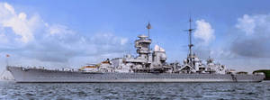 Cruiser Prinz Eugen by tr4br