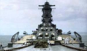 Battleship Musashi by tr4br