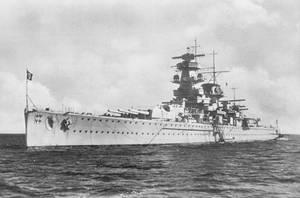 Cruiser Admiral Graf Spee by tr4br