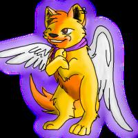 Chibi Winged Reyra by nightangelwolf