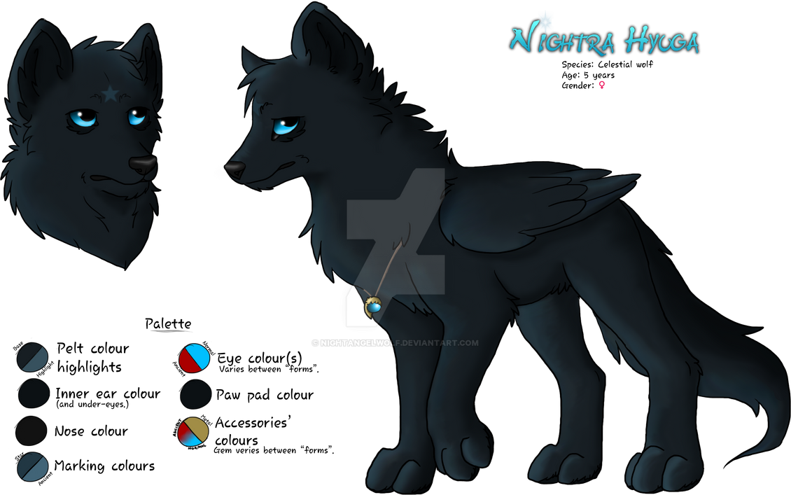 Nightra ~ 2014 Reference by nightangelwolf