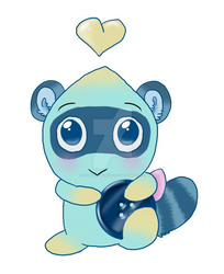 SneakyButton Chao (Neutral)