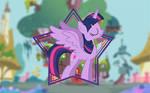 Twilight Sparkle Wallpaper (Mane 6 Wallpaper Pack)