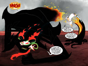 Master Of Darkness: Deception - comics spread 8-9