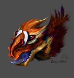 Creature concept B3 Fluffy exterminator