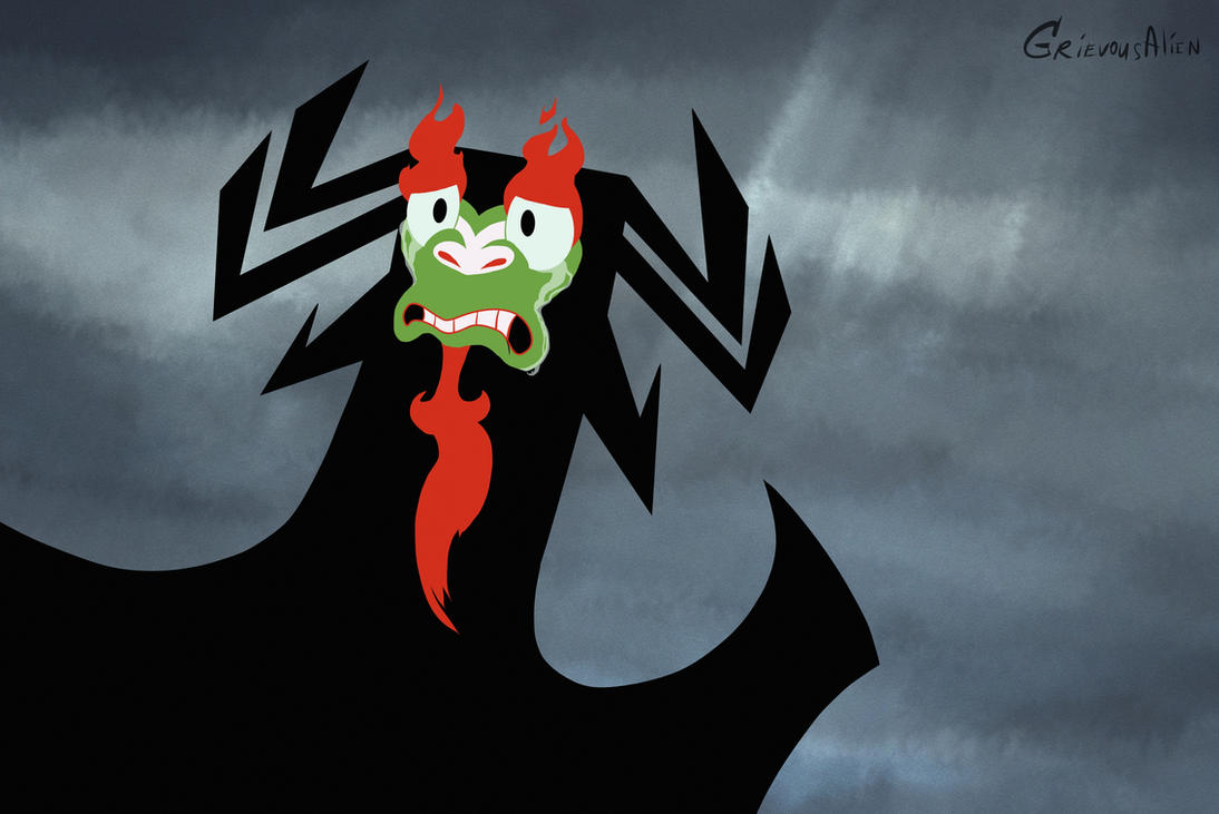 Aku Expressions: When smth goes terribly wrong by GrievousAlien