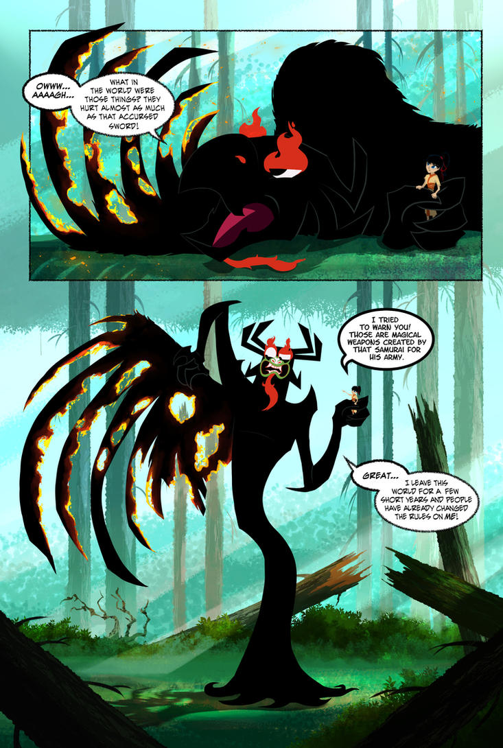 Master Of Darkness: Deception - page 29 by GrievousAlien