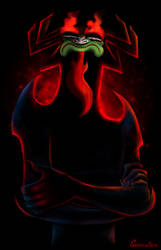 Master of darkness, Aku by GrievousAlien