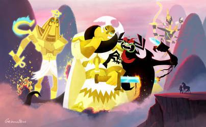 Aku vs the Gods