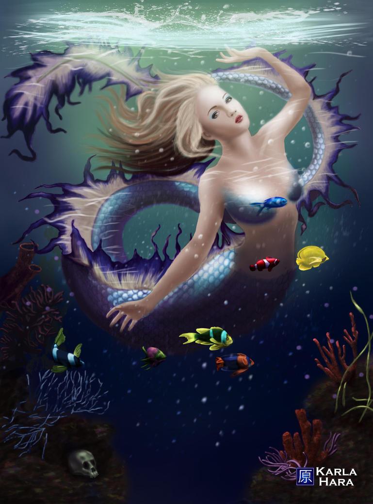 Fantasy mermaid by karlahara