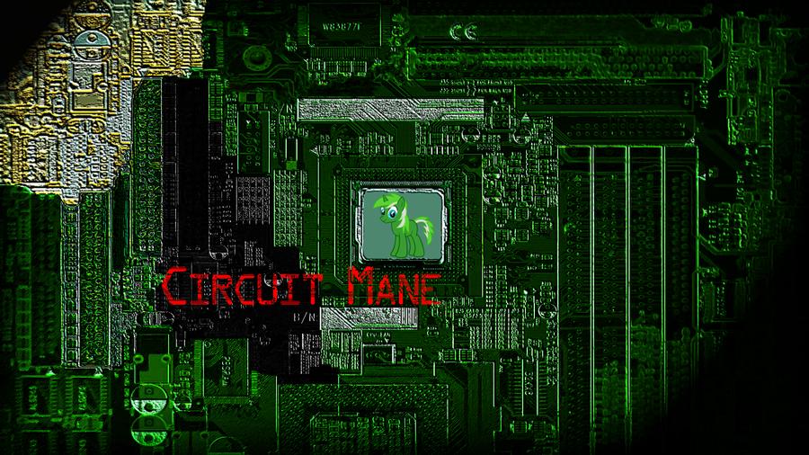 Circuit Mane Wallpaper 1366x768 by Diagon197