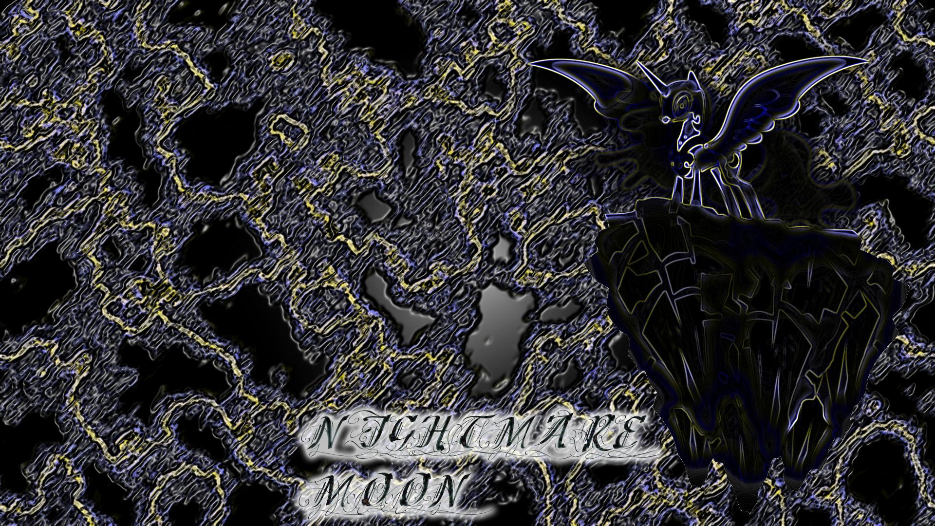 Nightmare moon wallpaper by Diagon197