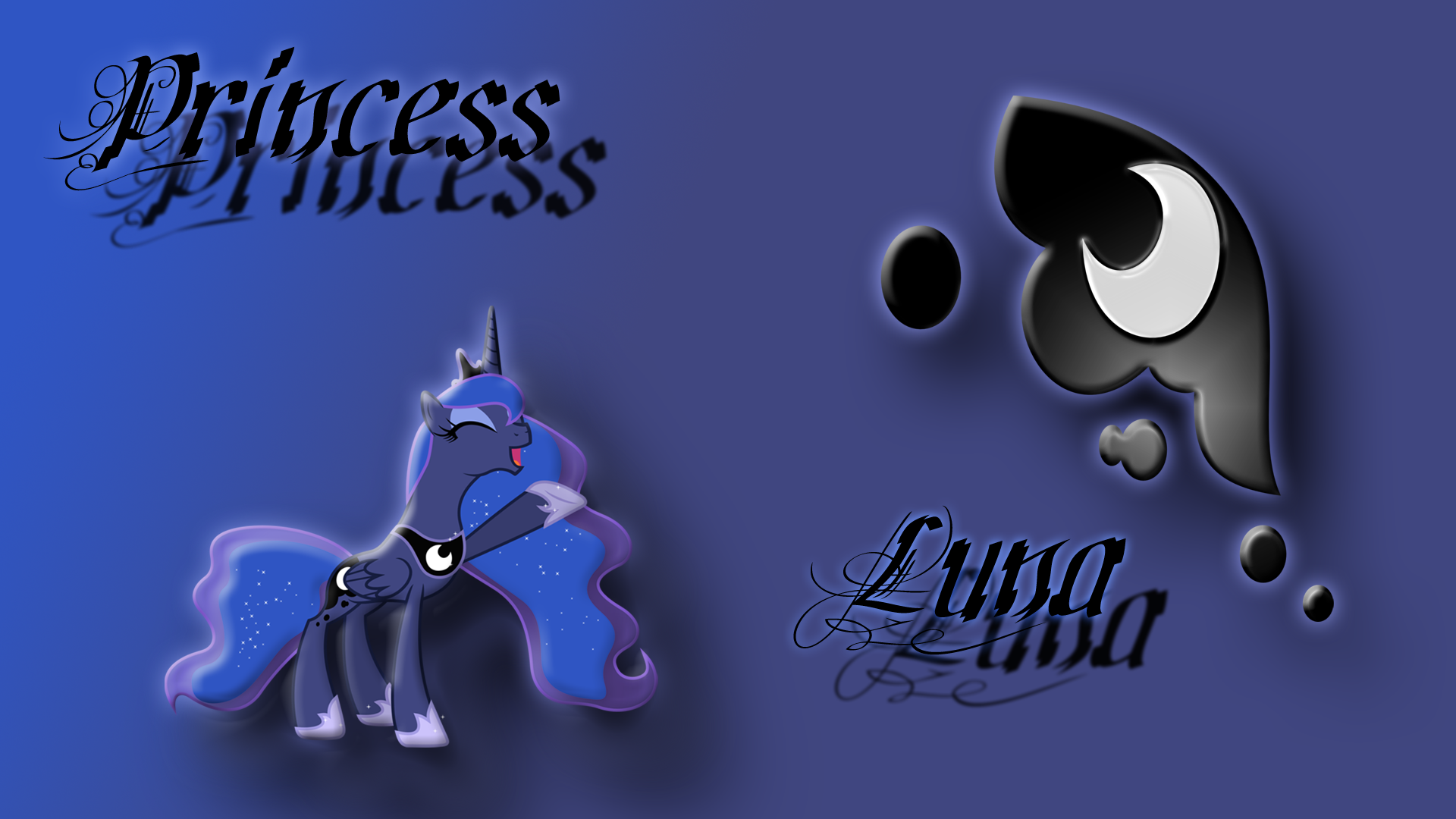 Luna Wallpaper by Diagon197