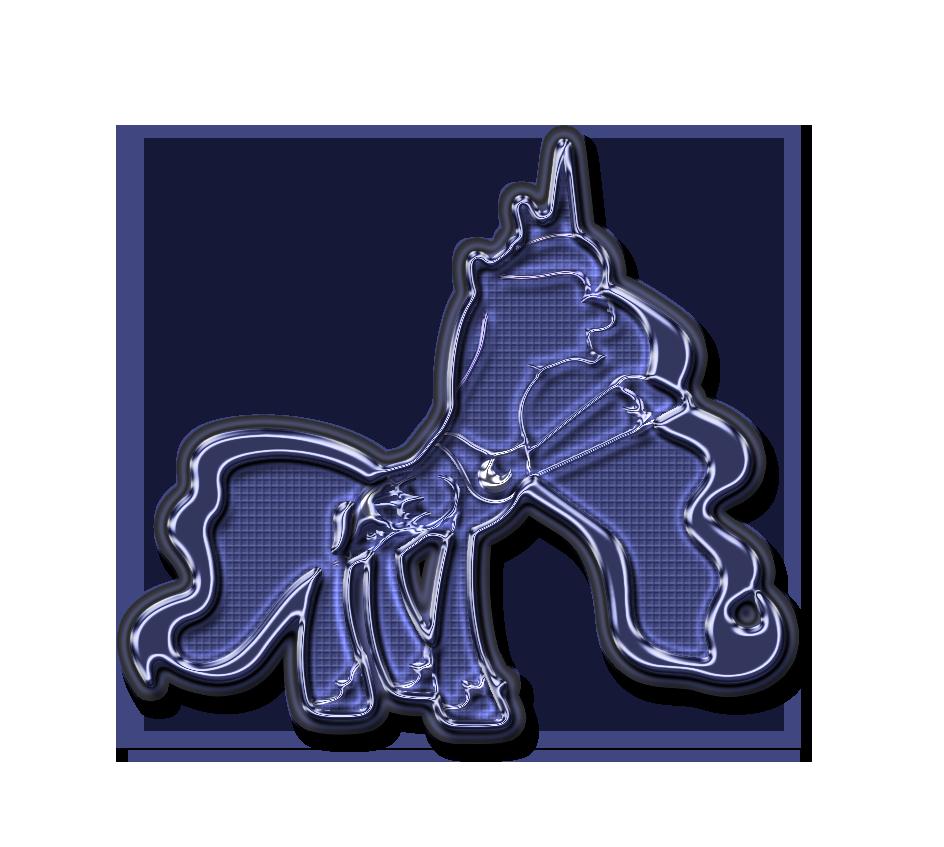 Luna neon vector by Diagon197