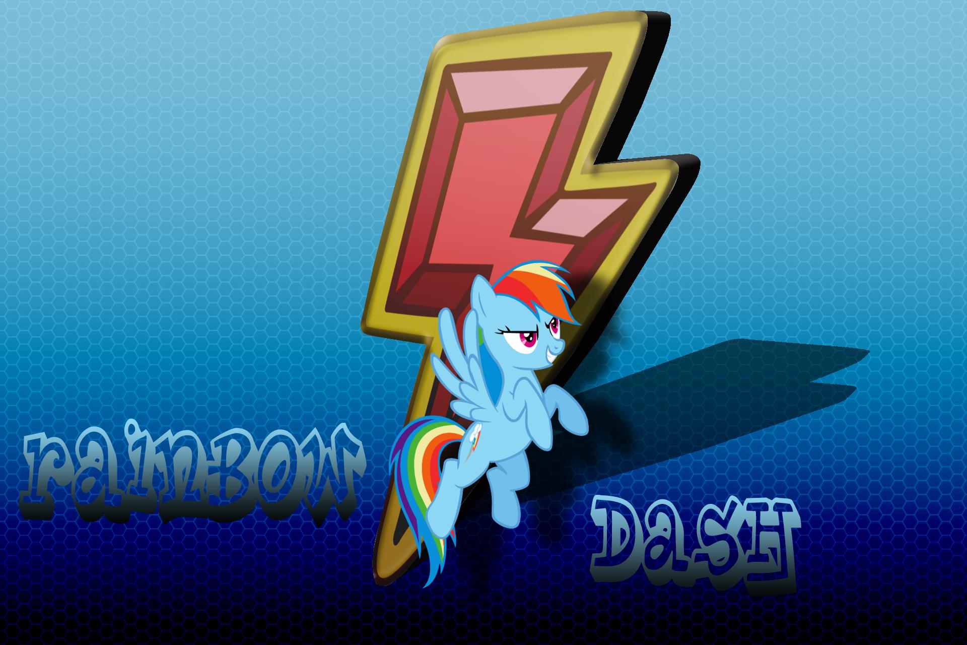 Rainbow Dash Wallpaper by Diagon197