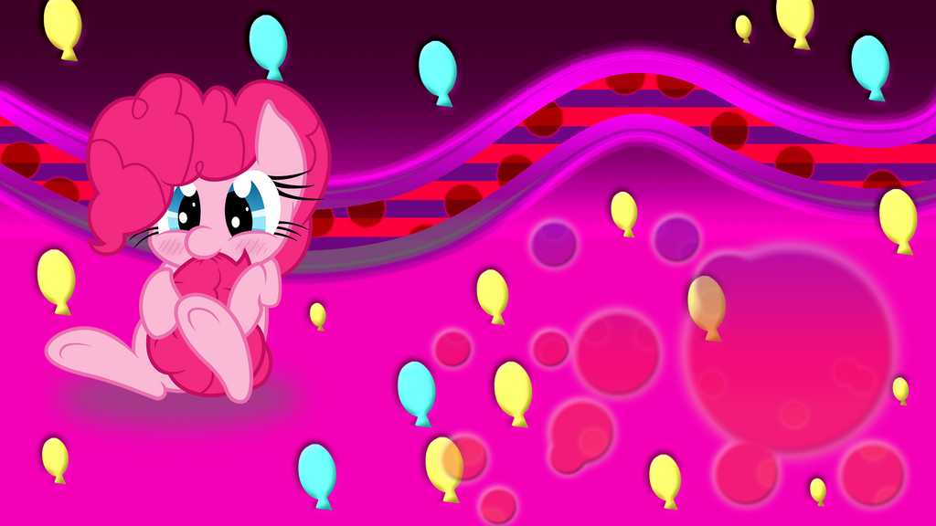 Pinkie Pie Wallpaper by Diagon197
