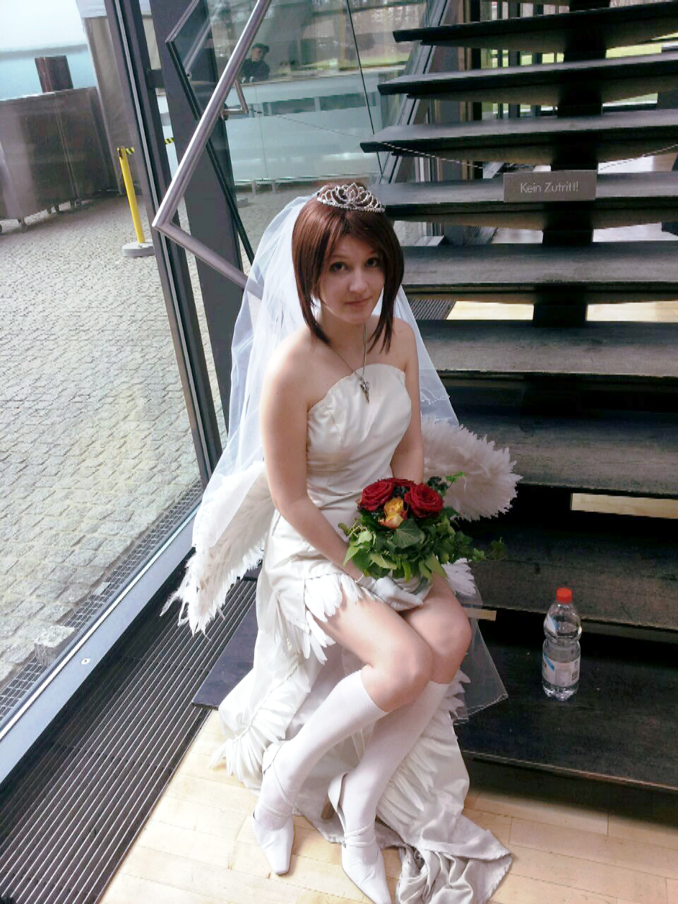 Yuna FFX Cosplay Weddingdress Version 1 By CiliaK