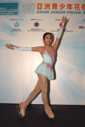 Me at competition in HK