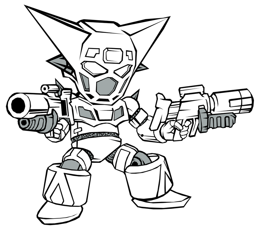 mazinger z coloring pages - photo#27