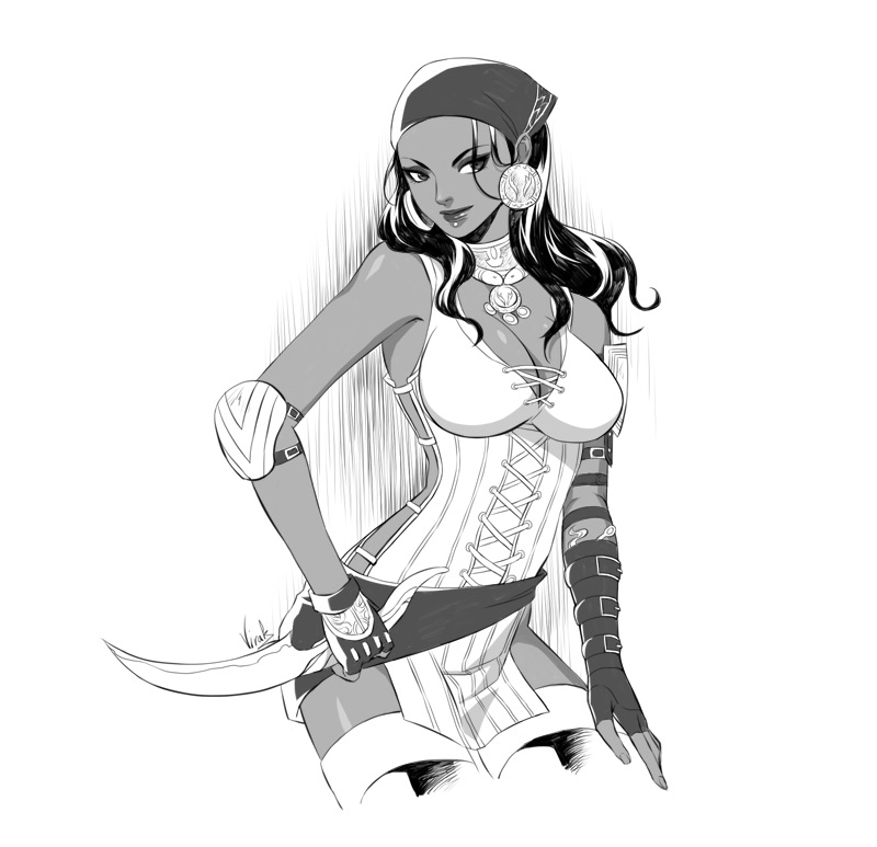 Dragon Age II Isabela by virak